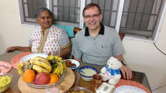 Virkistävää Ajatuksenvaihtoa Intialaisen Priscillan Kanssa