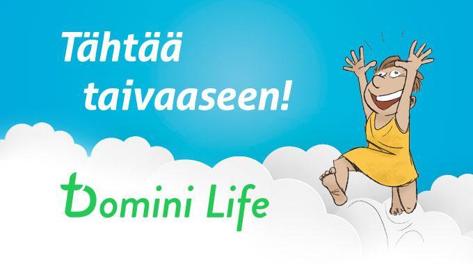 Joko Puhelimessasi On Domini Life?