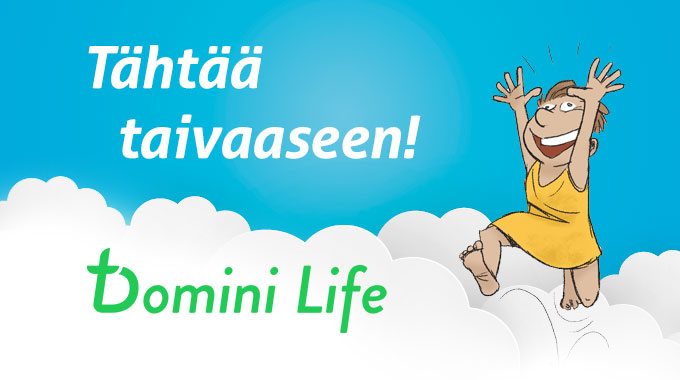 Lataa Puhelimeesi Domini Life!