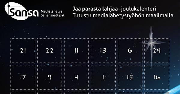 Joulukalenteri Jakaa Parasta Lahjaa
