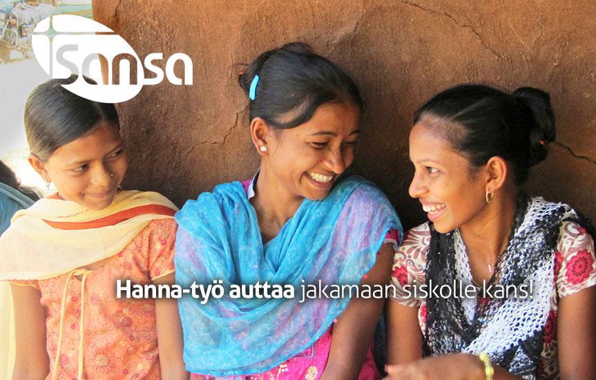 Naisten Puolesta – Globaali Toivoa Naisille/Hanna-työ