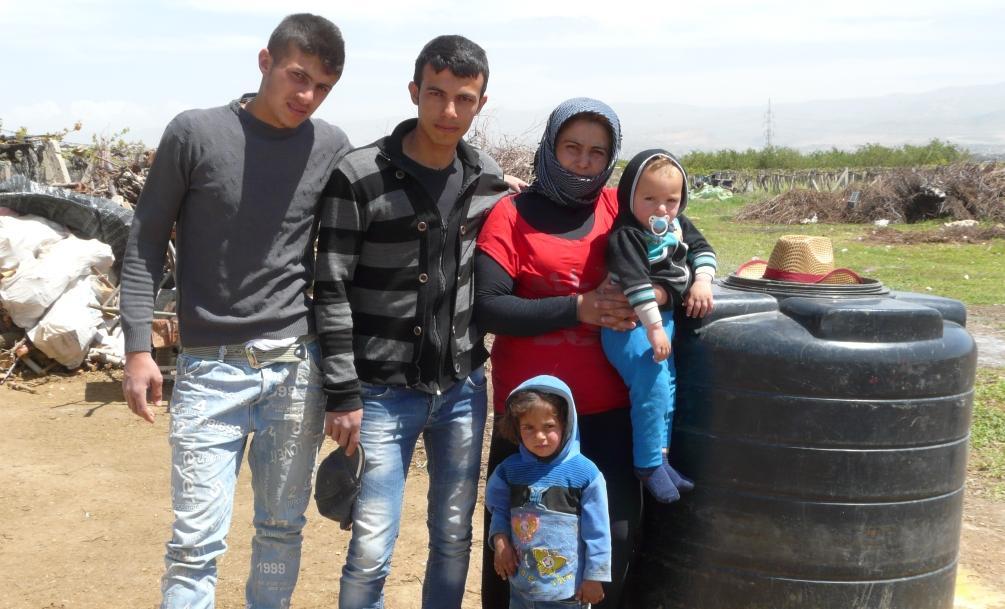 Pakolaisia Libanon Juha Auvinen