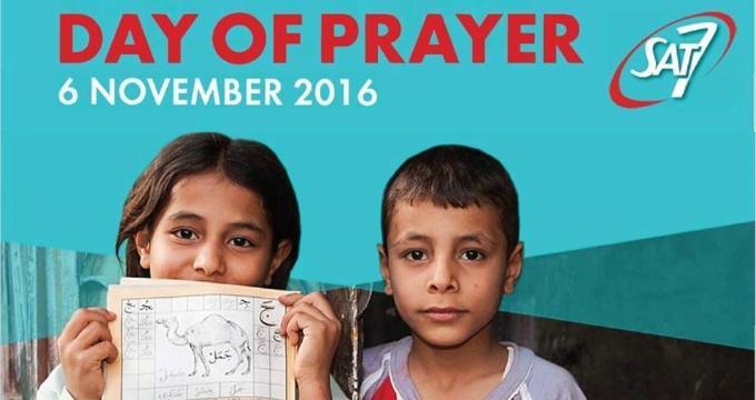 SAT-7:n Rukouspäivänä 6.11.2016 Muistetaan Erityisesti Pakolaislapsia