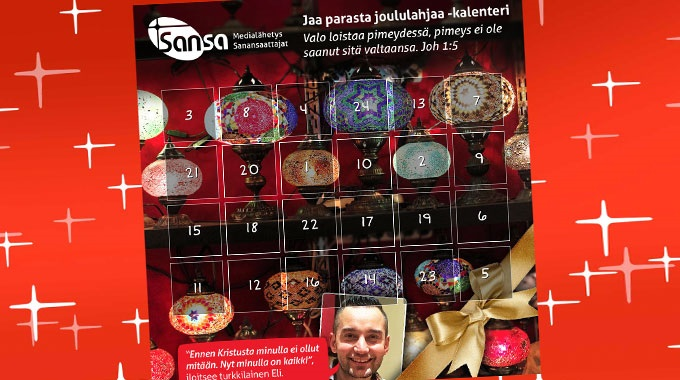 Sansan Joulukalenteri Johdattaa Seimen äärelle