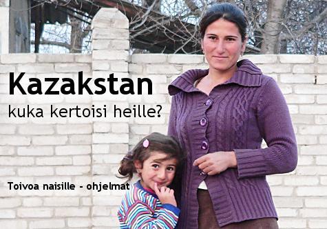 Kazakstan – Kuka Kertoisi Heille?
