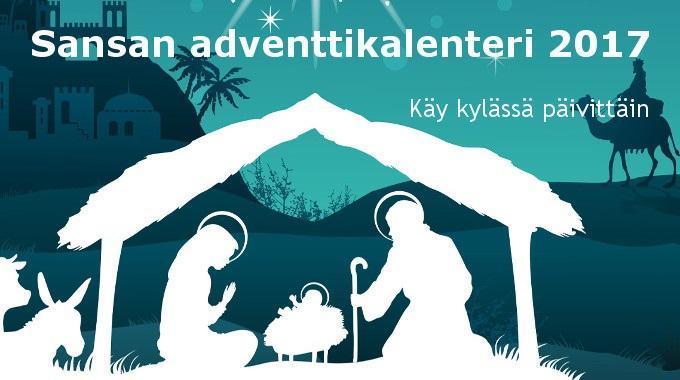 Sansan Adventtikalenteri Auttaa Joulun Odotuksessa