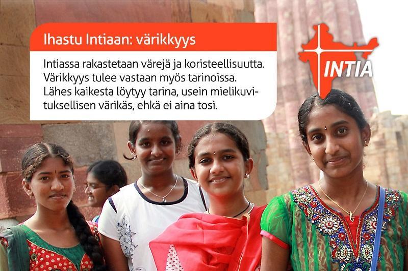 Värikäs Intia Valloitti Matkalaisen