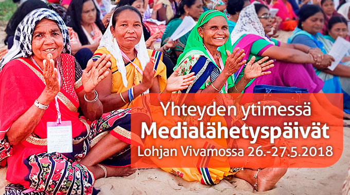 Medialähetyspäivillä Innostutaan Intiasta, Julkaistaan Farsinkielinen Nordic Praise Ja Juhlitaan 45-vuotiasta Sansaa