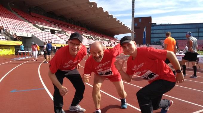 Punapaidat Erottuivat Tampere Maratonilla