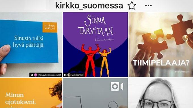 Sansa Näkyy Kirkko Suomessa -Instagramissa Tällä Viikolla