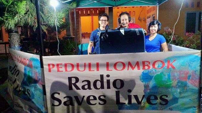 Kriisiradio Auttaa Indonesian Maanjäristys- Ja Tsunamialueella