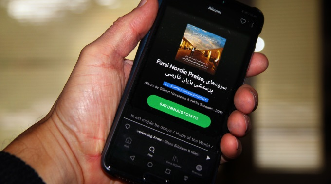 Pekka Simojoen Farsi Nordic Praise Löytyy Nyt Myös Spotifysta Ja Muista Digitaalisista Palveluista