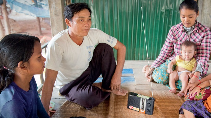 Kevätkeräys Kambodžaan Tuotti 40 000 Euroa