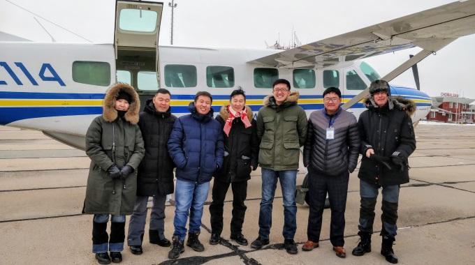 Mongolia Asennusmatka MAF Lentokone SR
