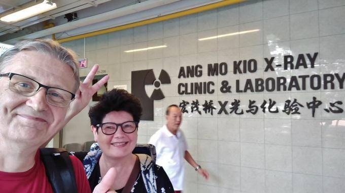 Kastepohjien Ensimmäisiä Kuulumisia Singaporesta