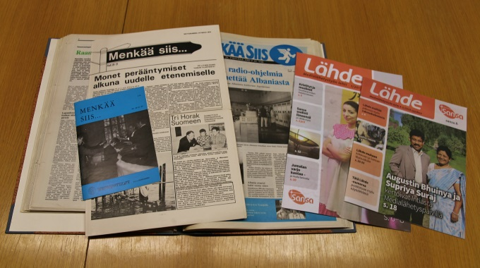 Sansan Lähde-lehti Täyttää 45 Vuotta