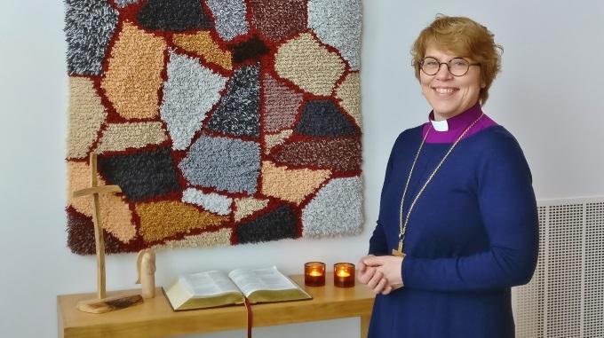 Palvelemaan Kutsuttu – Espoon Uusi Piispa Kaisamari Hintikka