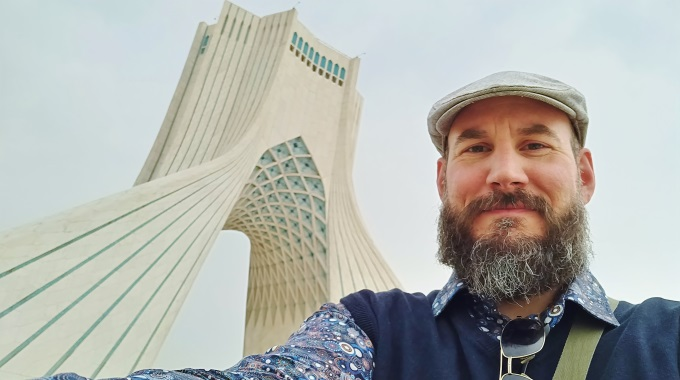 Mikael Tunér Kävi Kuvausmatkalla Perehtymässä Iraniin