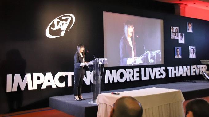 Rita Elmounayer, SAT-7: Joka Päivä Yli 900 Katsojaa Ottaa Yhteyttä