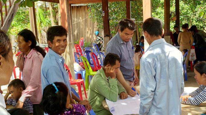 Ilonkyyneliä Kambodžassa