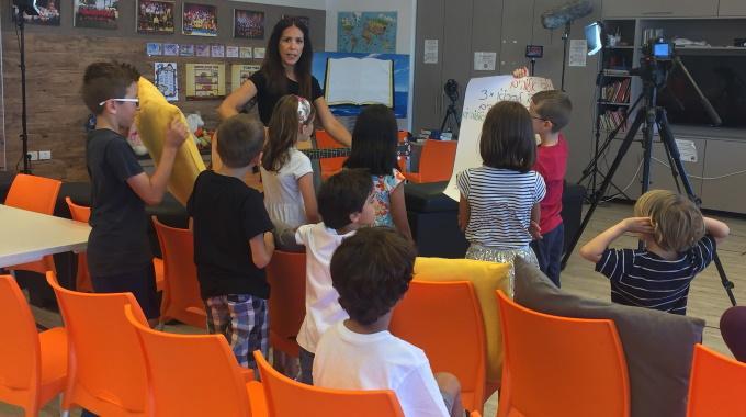 Sansa On Mukana Kouluttamassa Sapattikoulun Opettajia Israelissa