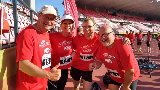 Run For Missions: Radion Väki Juoksi Tukea Radioasemalle