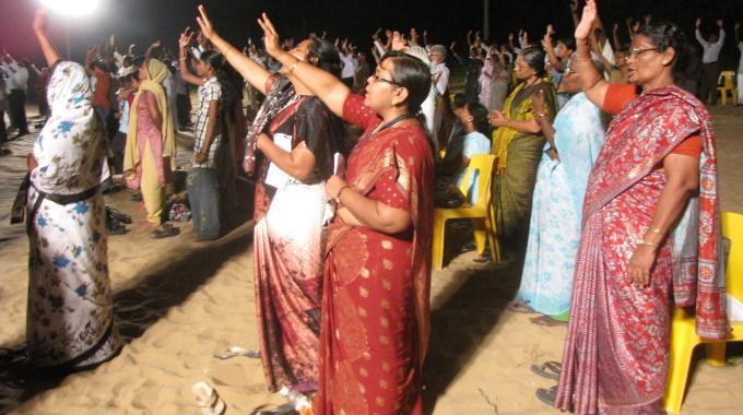 Kuuntelijoita Ylistys Intia Tamil Nadu ALP