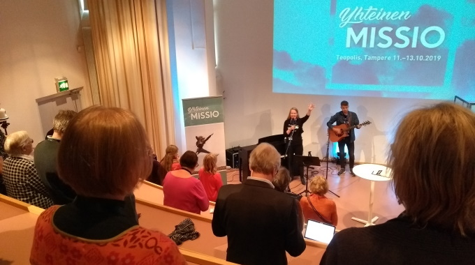 Yhteinen Missio Tampere LiisaHeinanen