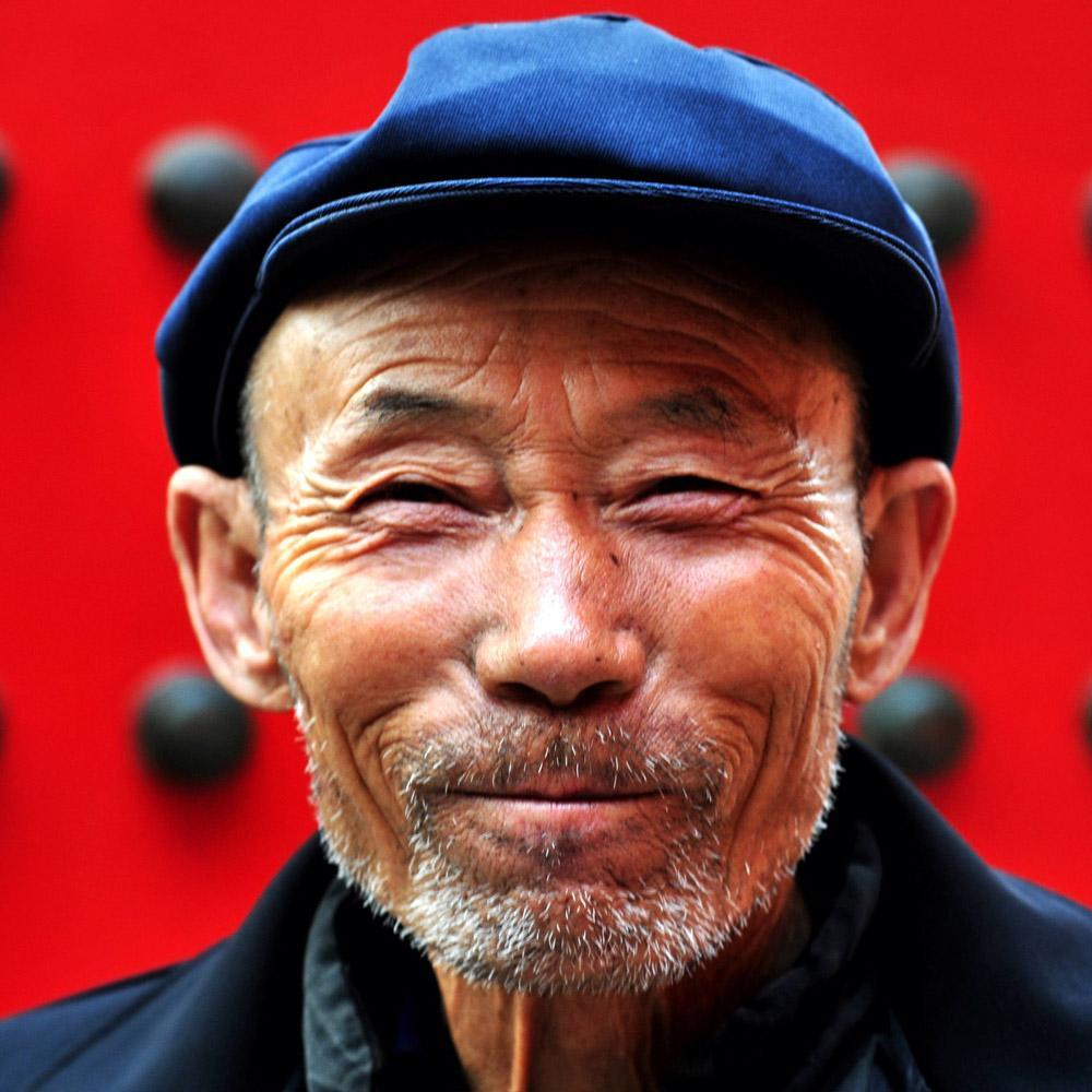 Palautteet Kiina Mies