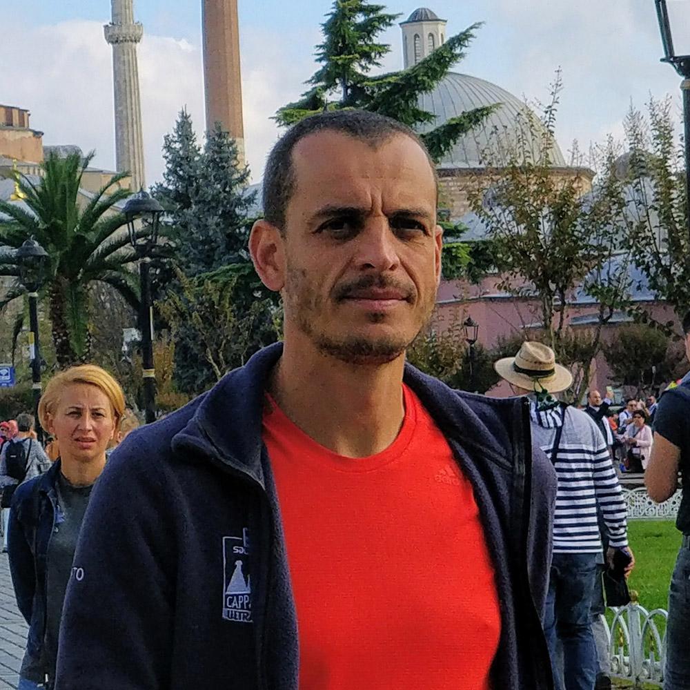 Palautteet Turkki Mies