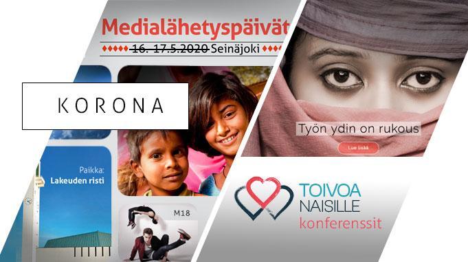 Medialähetyspäivät Ja Toivoa Naisille -konferenssit Siirtyvät Keväästä Myöhemmäksi