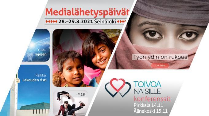 Toivoa Naisille -juhlakonferenssien Ja Medialähetyspäivien Uudet Ajankohdat