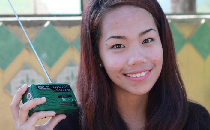 Radiokuuntelija Filippiineiltä.