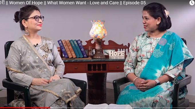 Televisio Välittää Hindiksi Toivoa Intian Naisille