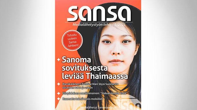 Uusi Sansa-lehti On Ilmestynyt