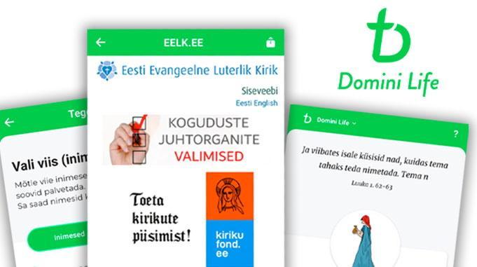 Domini Life -mobiilisovellus Toimii Nyt Myös Viron Kielellä